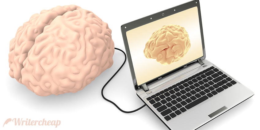 Human Brain and Computer