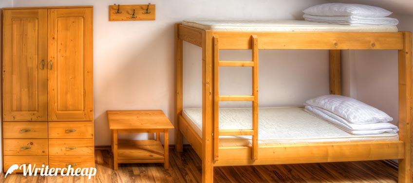 Clean Dorm Room