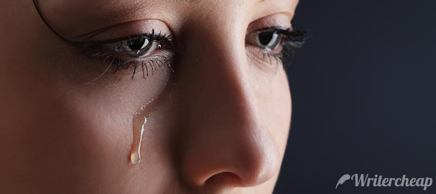 Crying Person