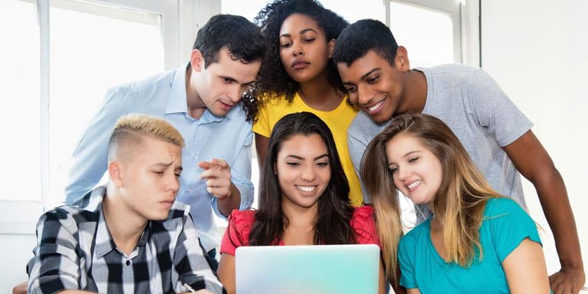 Student studies apps